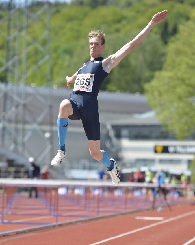 Andreas Carlsson, IK Ymer, längdhopp